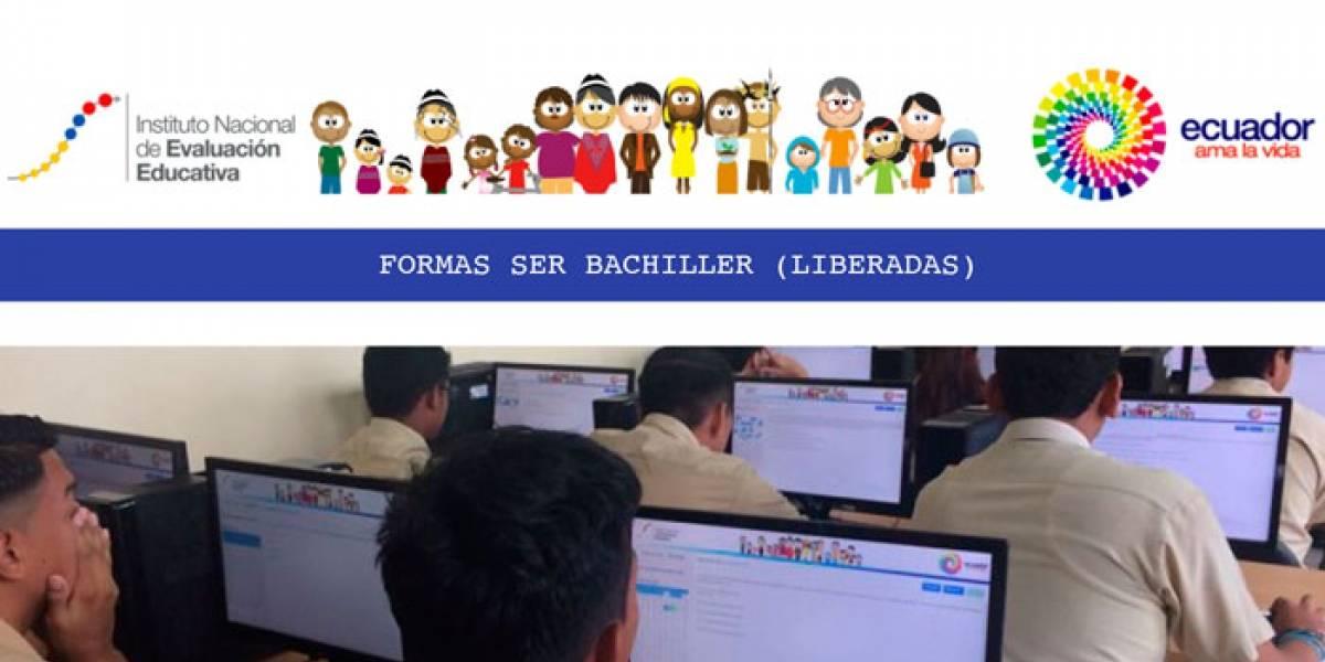 Inicia toma del examen Ser Bachiller, primer semestre 2018