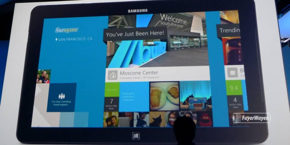 Foursquare estrena su primera aplicación nativa para Windows 8 #bldwin