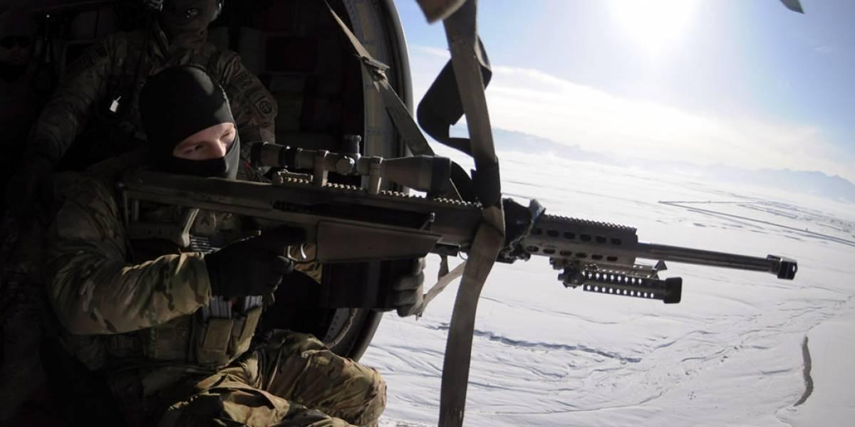 DARPA ha creado balas que cambian de dirección en el aire