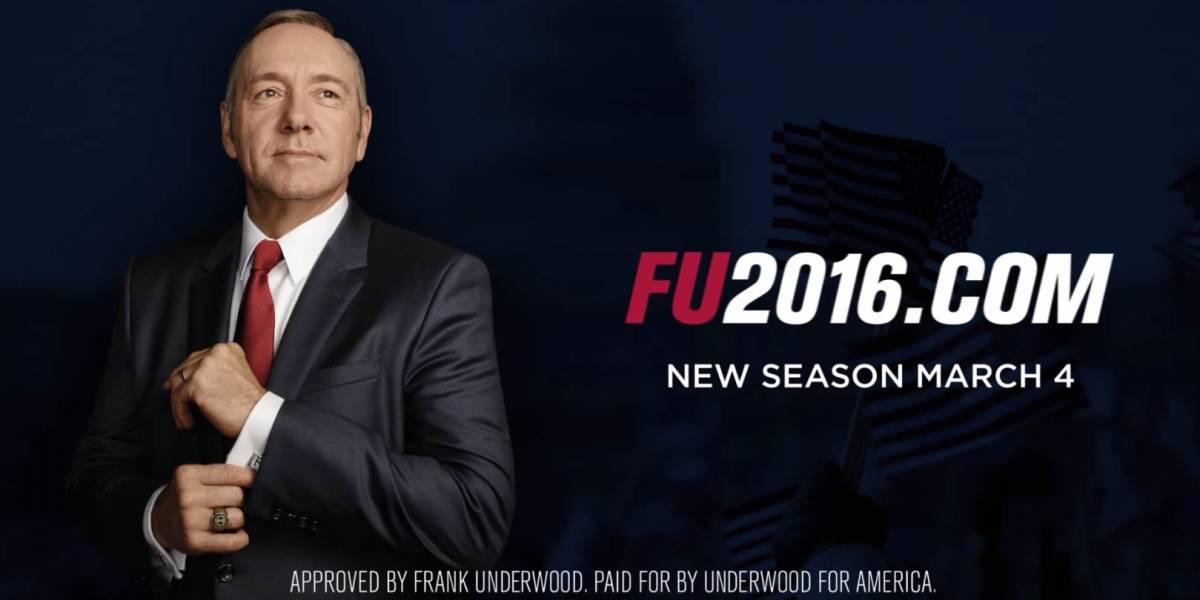Ya hay fecha de estreno de la cuarta temporada de House of Cards