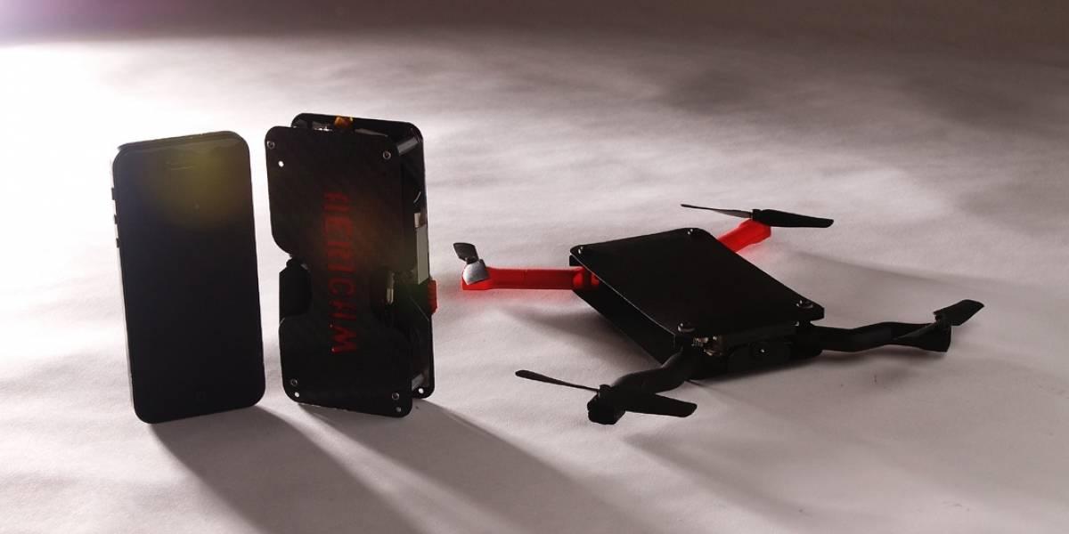 Dron de bolsillo busca fondos en Kickstarter