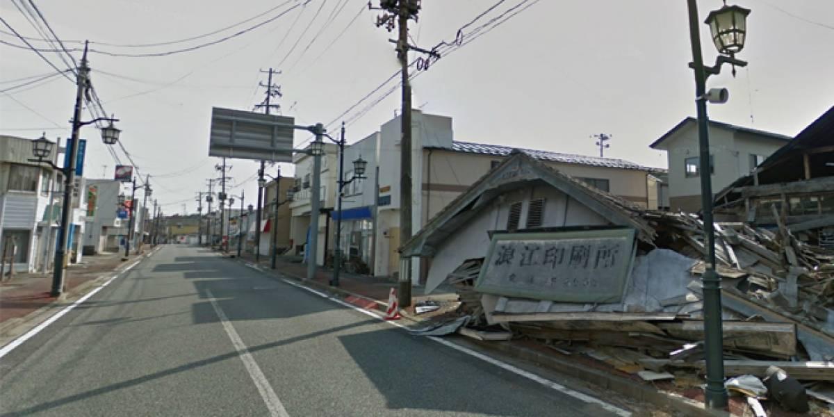 Google Street View muestra una ciudad abandonada por el desastre de Fukishima