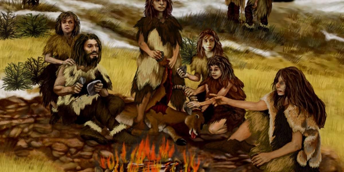 Neandertales habrían aprendido química para iniciar fogatas