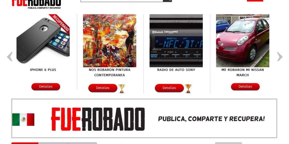 Chilenos crean una plataforma para reportar robos y ofrecer recompensas [FW Interviú]