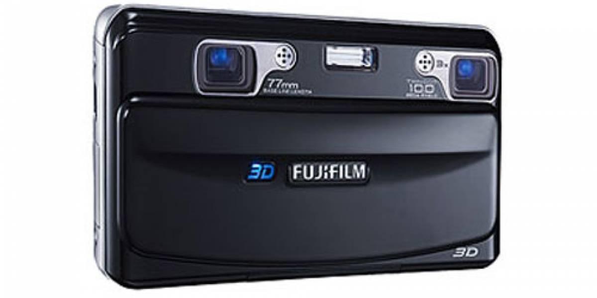 Fujifilm anuncia cámaras compactas tridimensionales