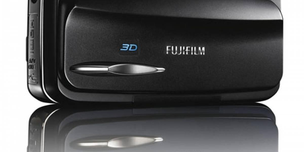 Fuji lanza cámara compacta 3D