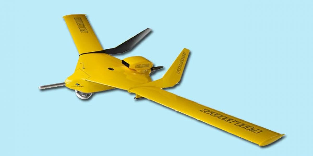 Diseñan un avión espía que capta imágenes a 3.400 metros de altura