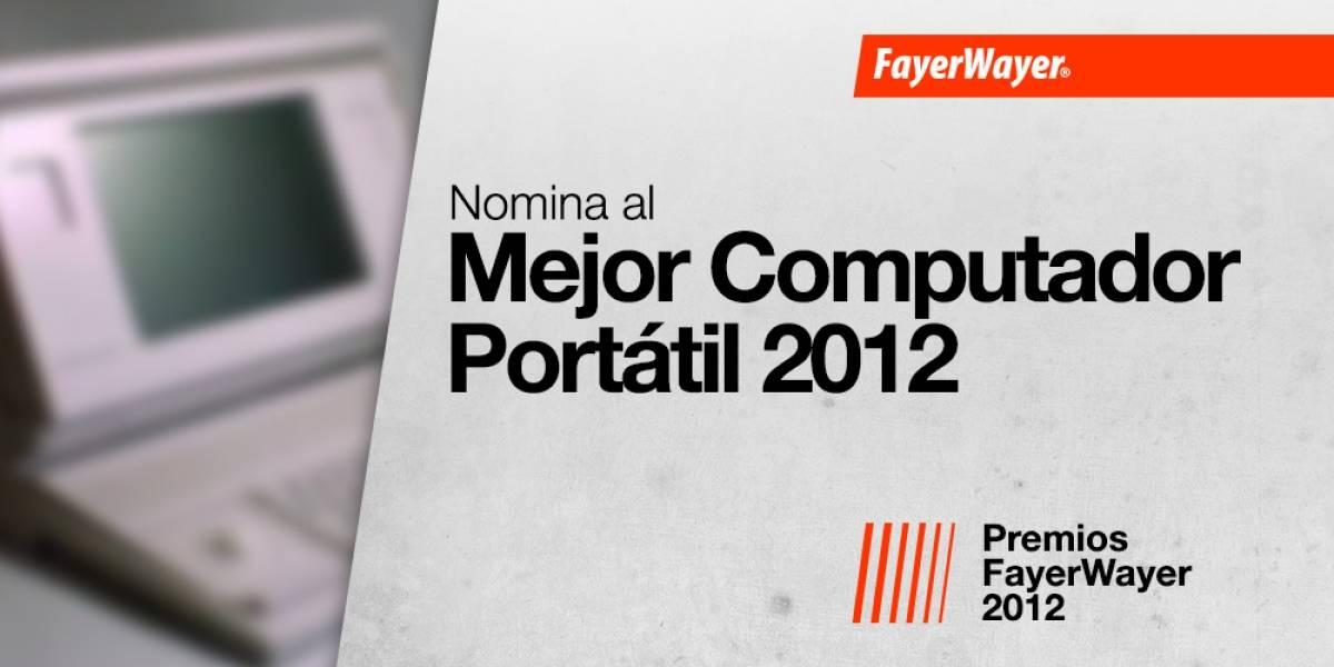 Nomina a tus candidatos para el Mejor Computador Portátil del 2012