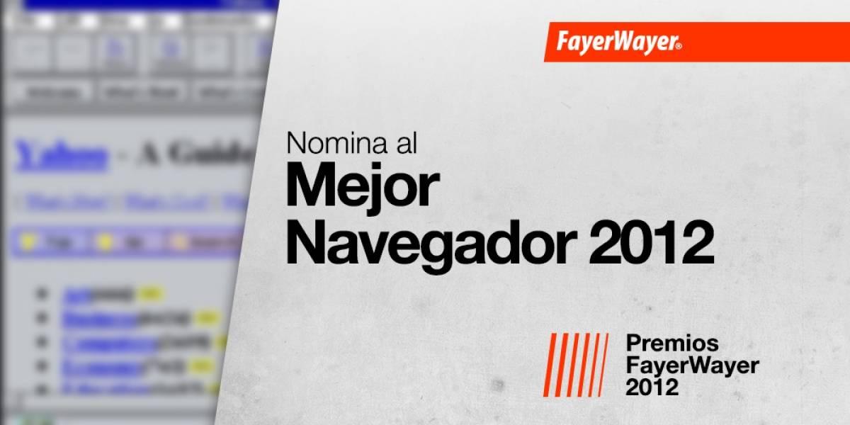 Nomina a tus candidatos para el navegador del año 2012