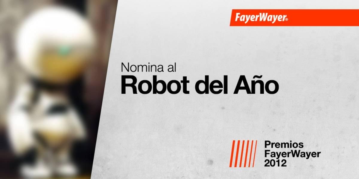 Nomina a tus candidatos para el Mejor Robot 2012