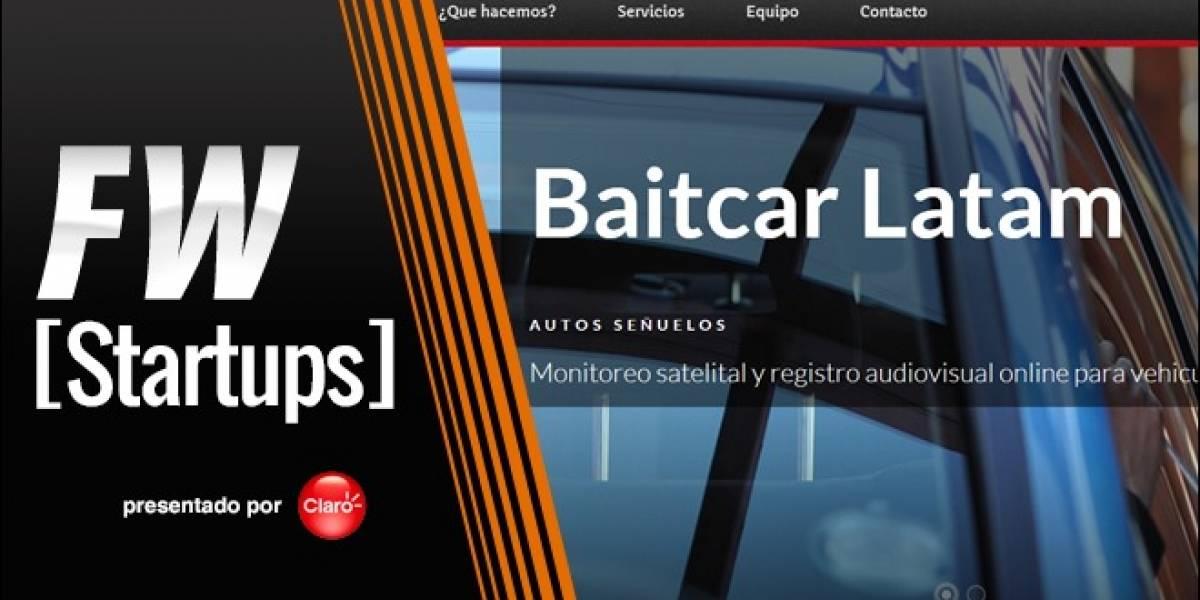 Baitcar Latam: La tecnología al servicio de la prevención de robos de autos [FW Startups]