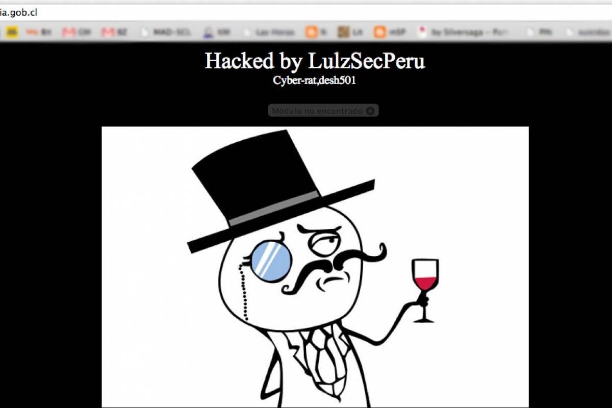 Chile lulzsec per se atribuye hackeo de sitio web del for Pagina web del ministerio