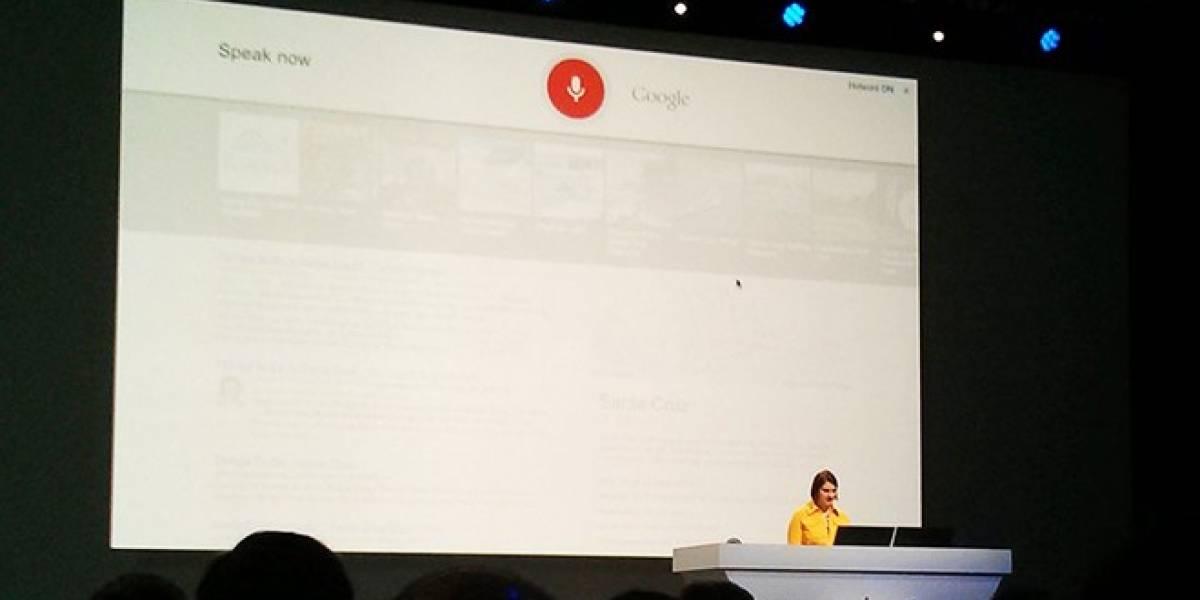 Se activa el reconocimiento de voz en el buscador web Google.com