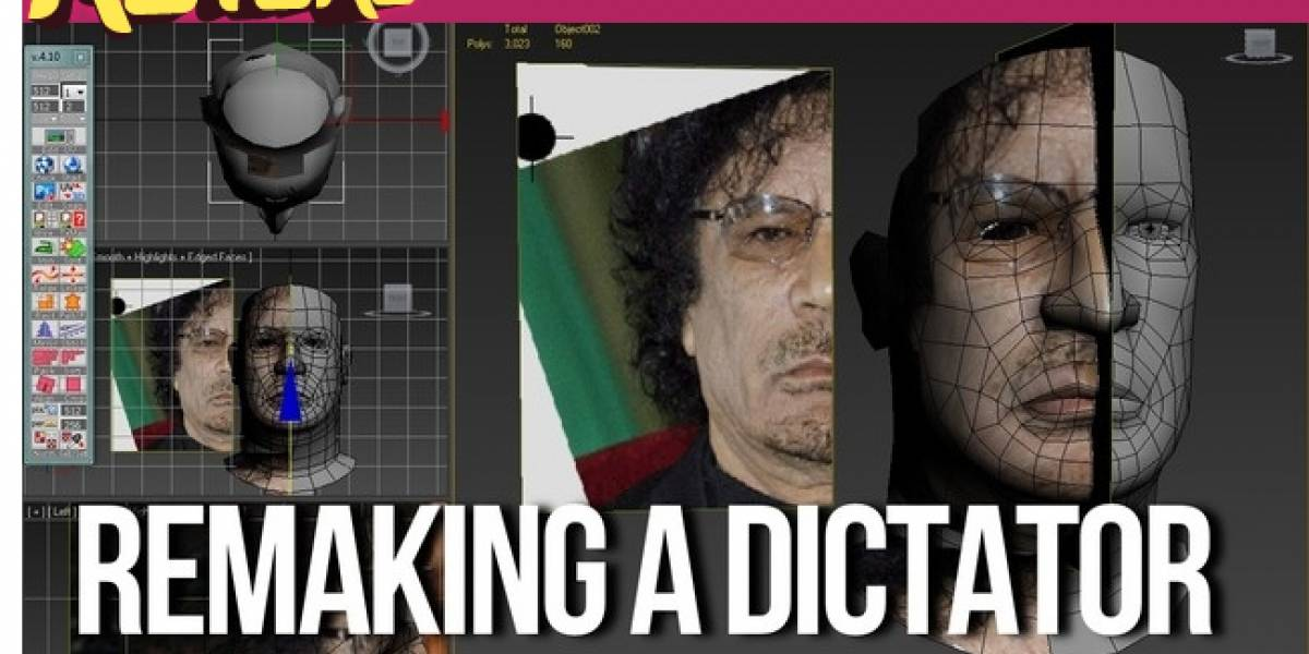La muerte de Gadafi inspira un videojuego