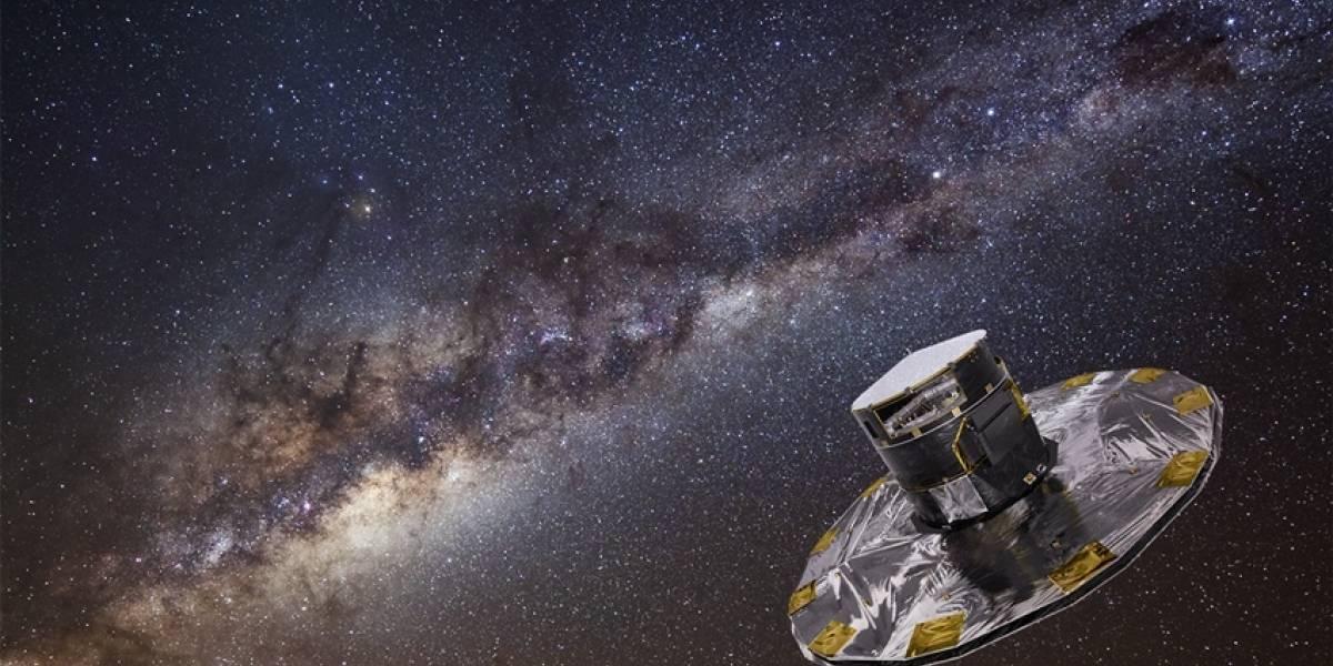 Satélite Gaia hará un registro de 1.000 millones de estrellas