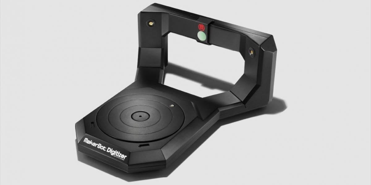 Ya está disponible el escáner tridimensional Digitizer de Makerbot