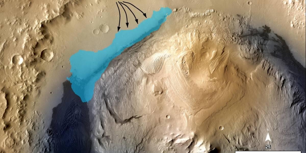 Lago marciano fue muy parecido a la Tierra en sus inicios, según análisis de Curiosity
