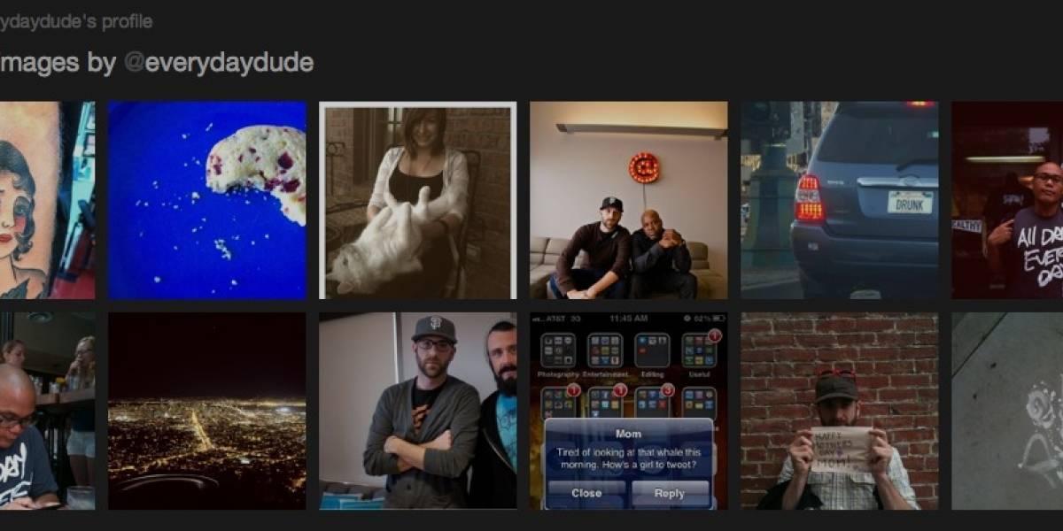 Twitter permitirá ver galerías de imágenes subidas por otros usuarios