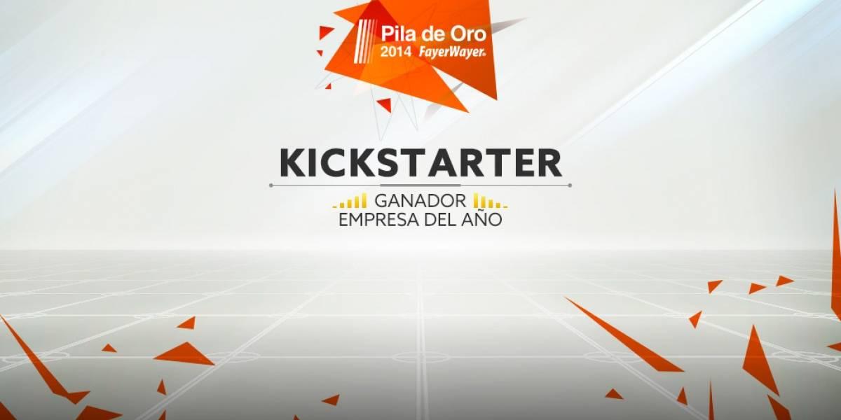 Kickstarter es la empresa del año 2014 [Pila de Oro]