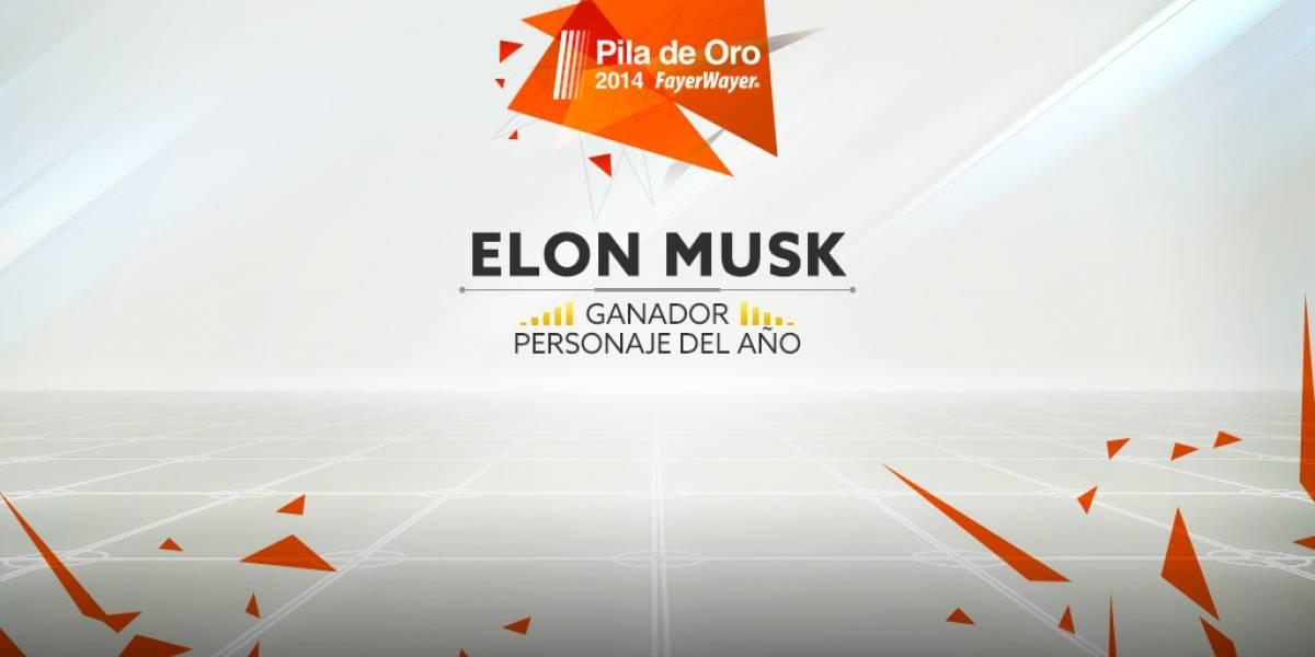 Elon Musk es el personaje de 2014 [Pila de Oro]