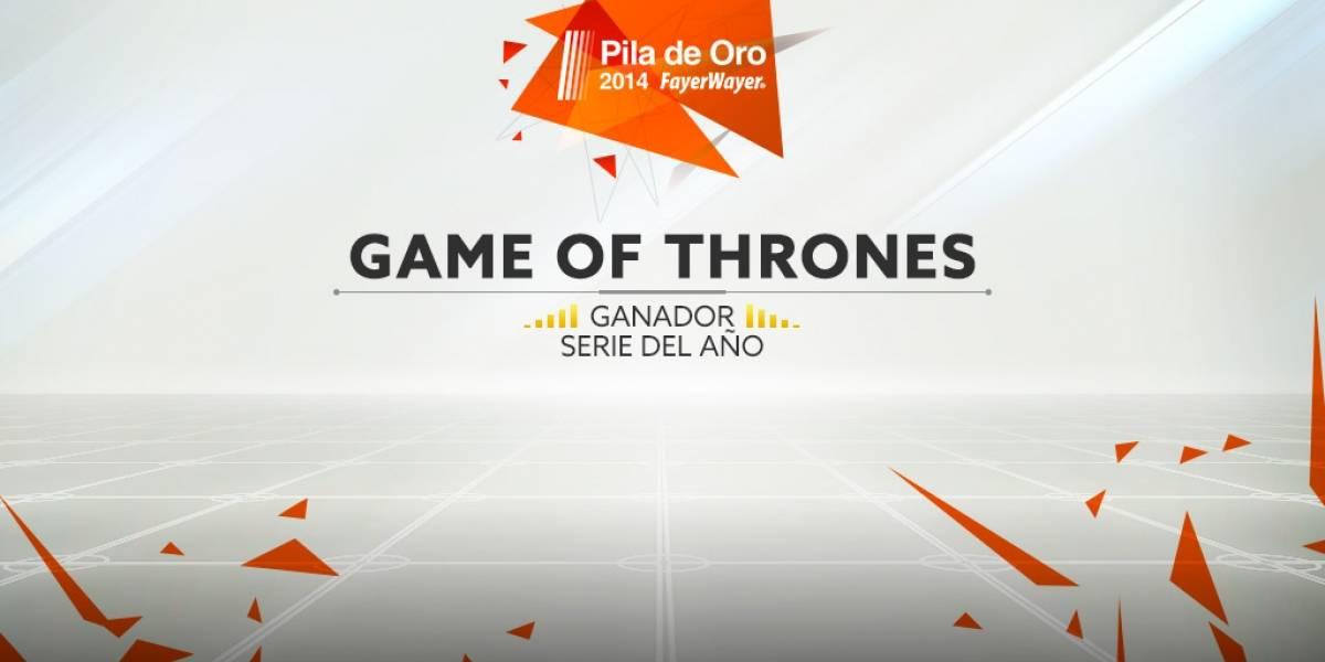 Game of Thrones es la mejor serie del año 2014 [Pila de Oro]
