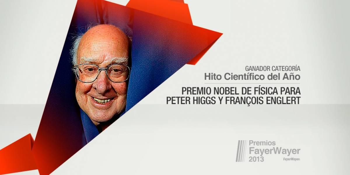 Premio Nobel a Higgs y Englert ganó la Pila de Oro al Hito Científico