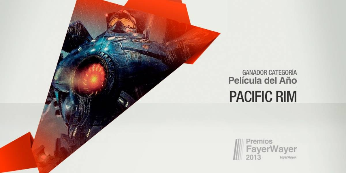 Pacific Rim elegida la Película de 2013 [Pila de Oro]
