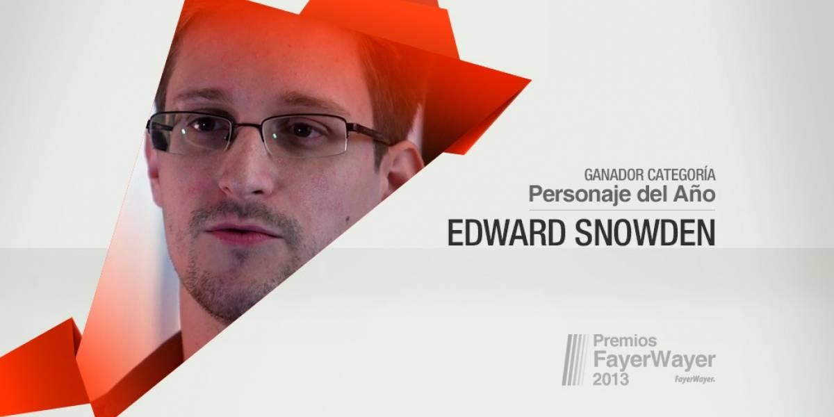 Edward Snowden elegido el Personaje de 2013 [Pila de Oro]