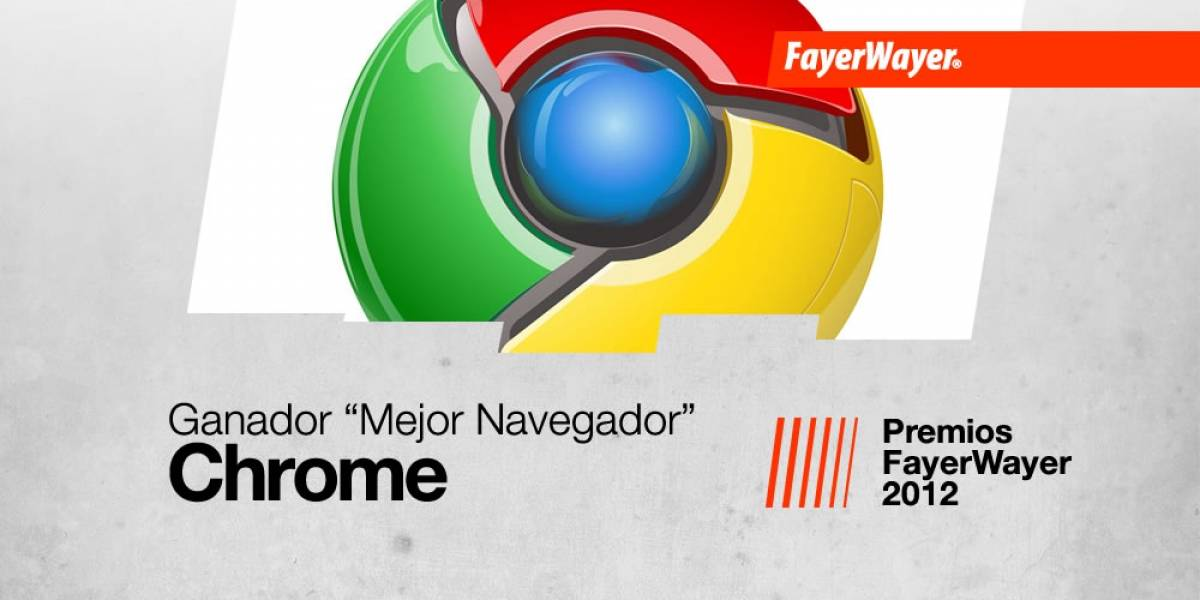 Chrome es el Navegador del año 2012