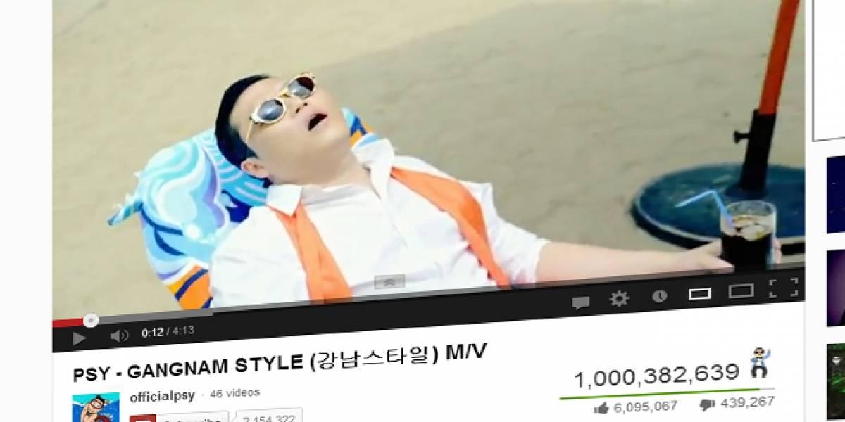 21 de diciembre: Gangnam Style alcanza mil millones de reproducciones en YouTube