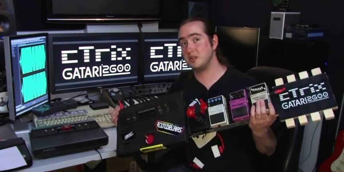 gAtari 2600: La guitarra de 8 bits para convertirte en un héroe de la guitarra geek
