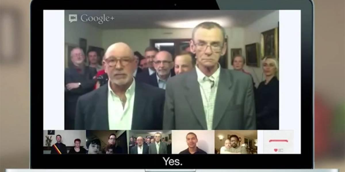 Ahora es posible realizar matrimonios homosexuales por medio de Google Hangouts