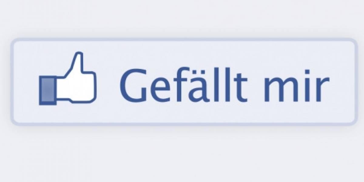 """Uno de los estados de Alemania banea el botón """"me gusta"""" de Facebook"""