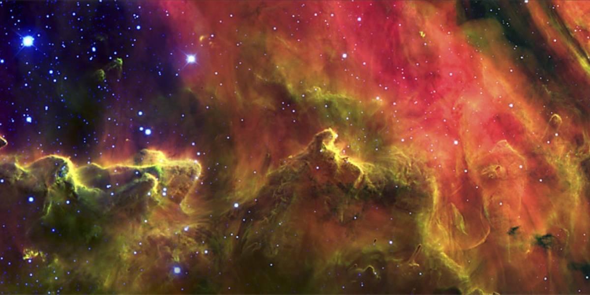 Imperdible: Incubadora estelar captada por astrónomos argentinos desde Chile