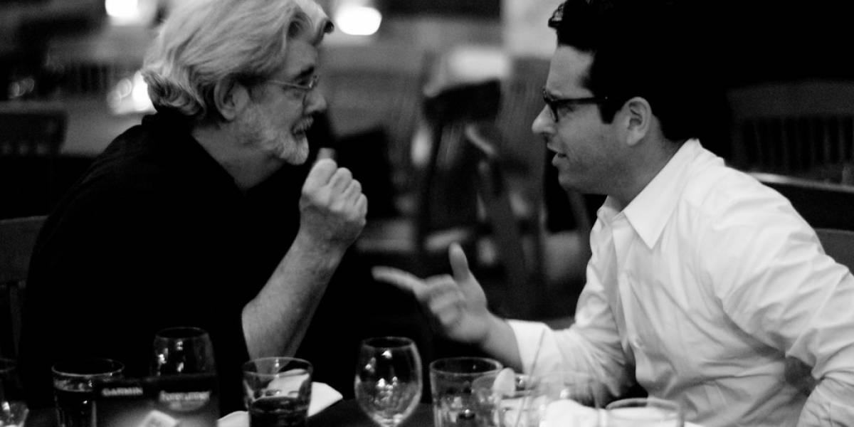 George Lucas no ha visto el tráiler de Star Wars: el despertar de la Fuerza