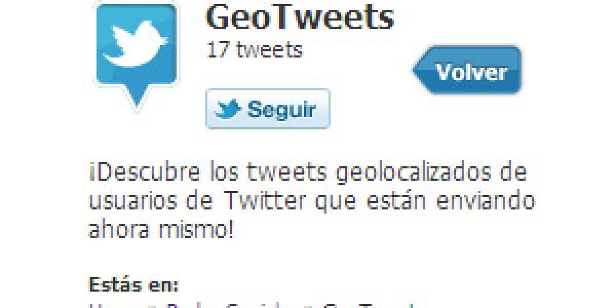 Chile: Mapcity mapea los tweets