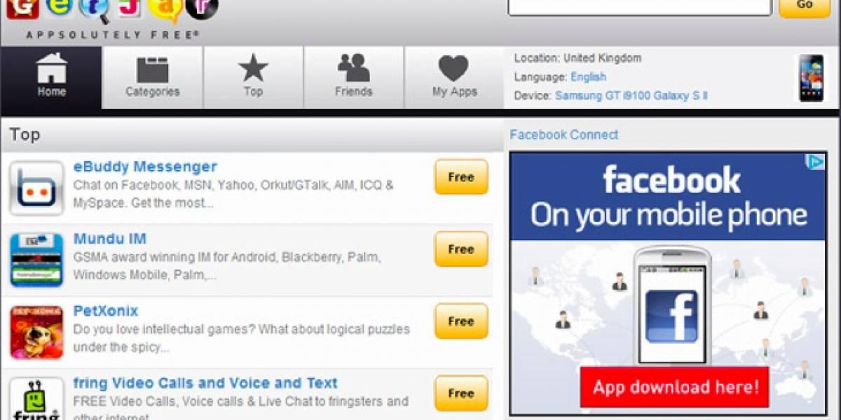 """Apple dice que GetJar tampoco puede usar la frase """"app store"""""""