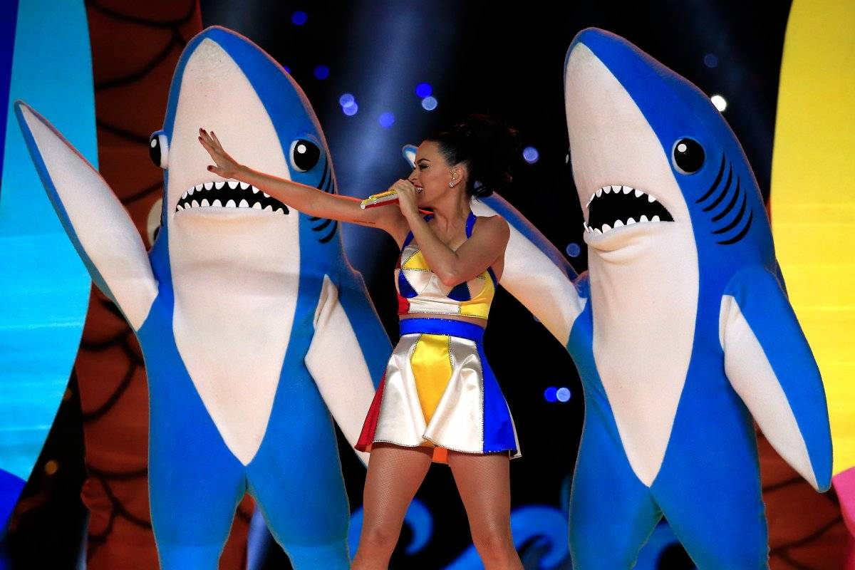 katy perry tiburones