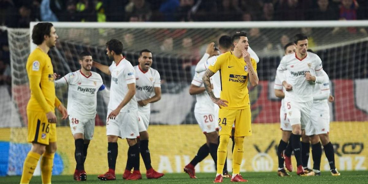 Sevilla elimina al Atleti de la Copa del Rey