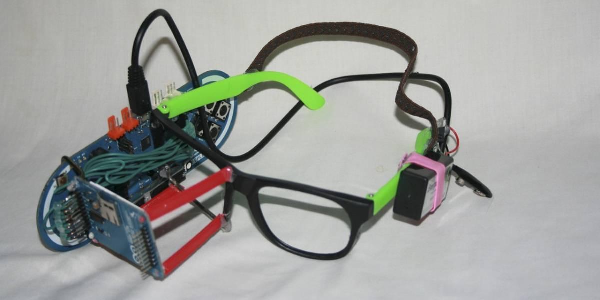 """Un niño de 13 años fabricó sus propias gafas tipo """"Google Glass"""" hechas en casa"""