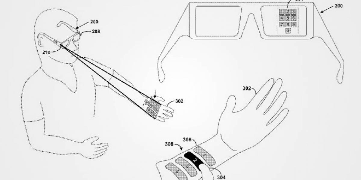 Google presenta patente para controlar Project Glass con un rayo láser