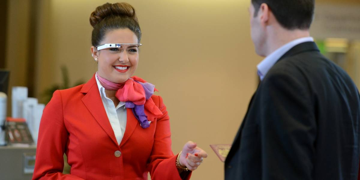 Virgin Atlantic usa Google Glass y smartwatches Sony para check-in de pasajeros en Londres