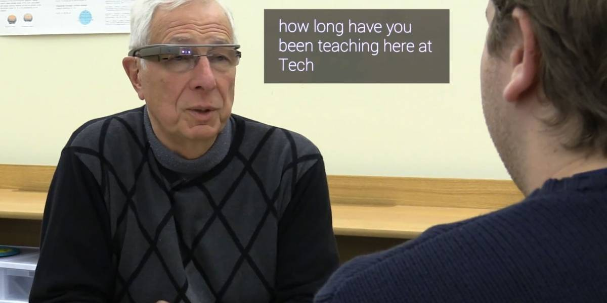 Captioning on Glass permite ver subtitulos de nuestras conversaciones en Google Glass