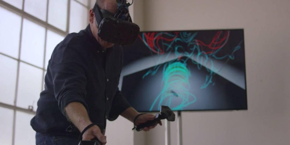 Legendario animador de Disney muestra como es dibujar en Realidad Virtual