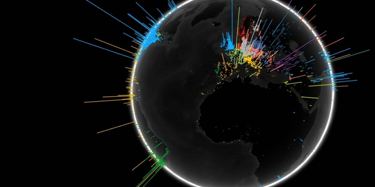 Google lanza herramienta para visualizar las búsquedas en el mundo