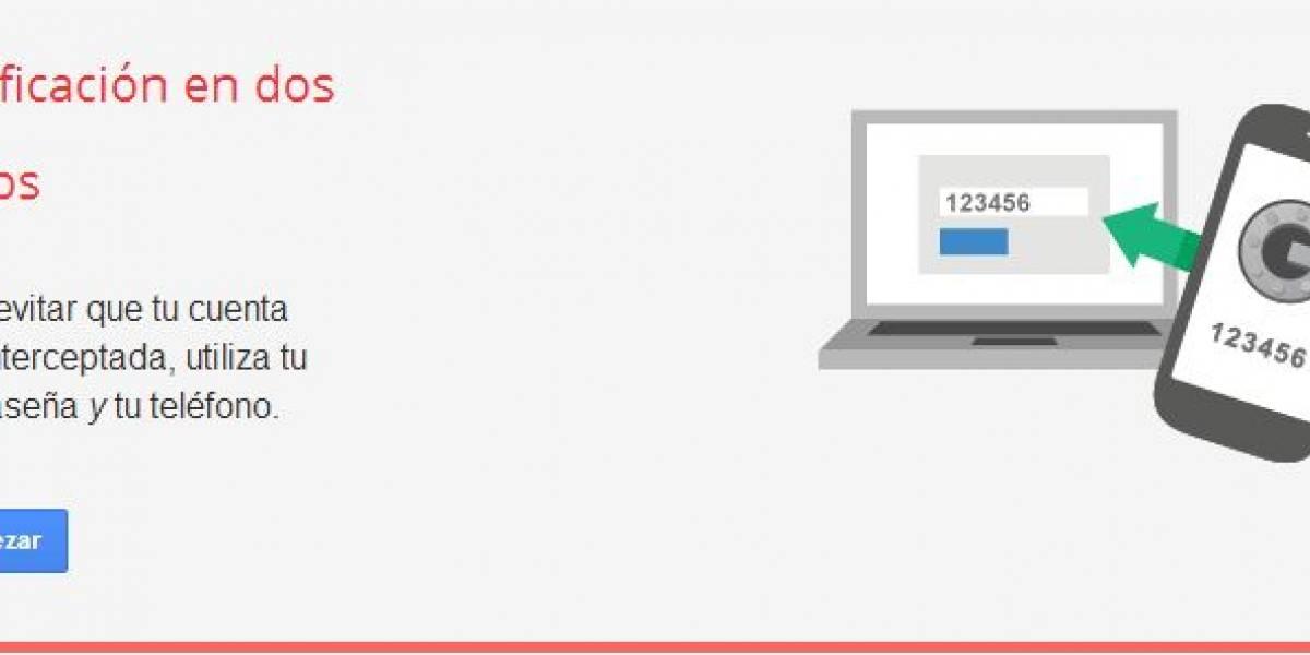 Como habilitar la verificación en dos pasos en Twitter, Facebook y Gmail