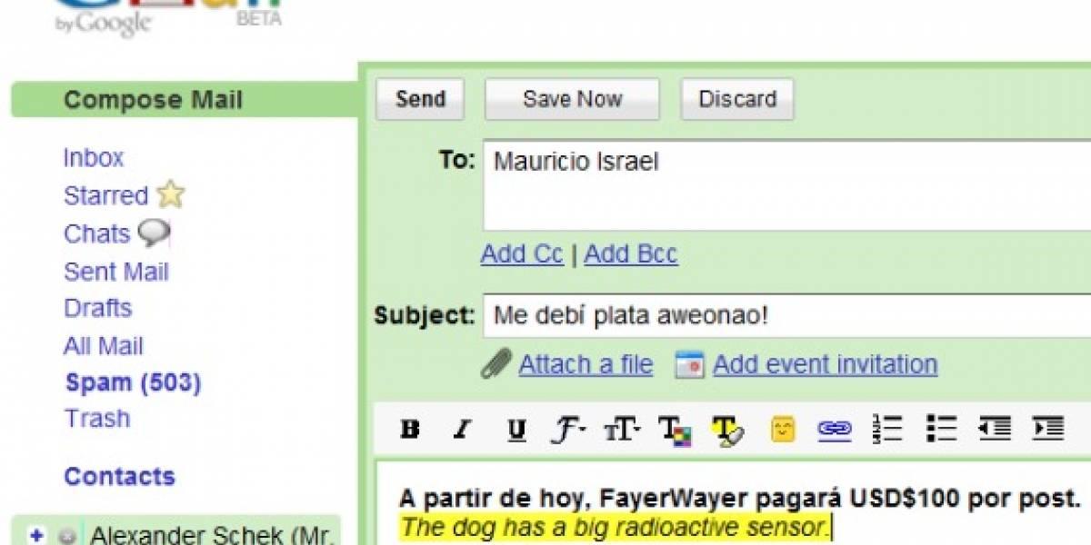 Gmail ofrecer traducir correos ahora