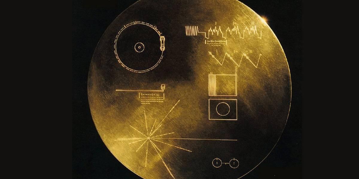 El disco dorado a bordo de Voyager 1