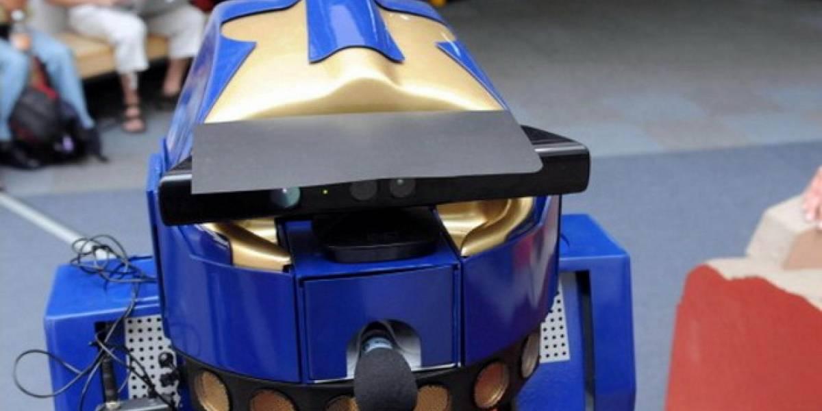 México: Robot campeón de la RoboCup regresa al laboratorio de la UNAM