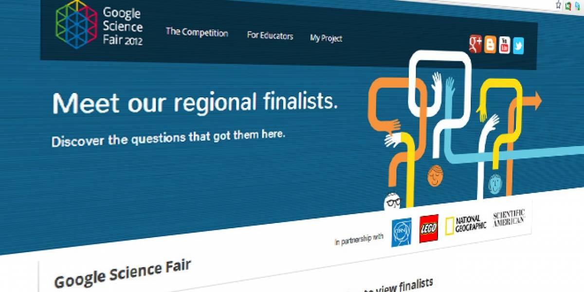 Un colombiano y un chileno son los únicos latinos finalistas de Google Science Fair